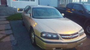 2004 Chevrolet Impala -  For Repairs (REDUCED) St. John's Newfoundland image 3