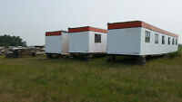ATCO CONSTRUCTION CAMP TRAILERS  ( 10 FOOT BY 54 FOOT ) !!!!