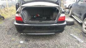 BMW E46 M-sport 2003 rear bumper