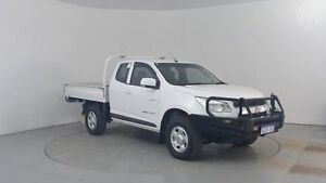 2013 Holden Colorado RG LX (4x4) White 5 Speed Manual Cab Chassis Perth Airport Belmont Area Preview