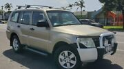 2008 Mitsubishi Pajero NS GLX Gold 5 Speed Sports Automatic Wagon Bungalow Cairns City Preview