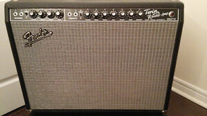 """Fender """"65 twin reverb"""" with all original tubes $1,150"""