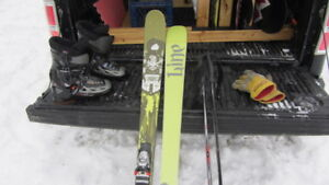 Line prophet skis 117-80-105 come with poles and bindings