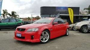 2006 Holden Commodore VE SV6 Red 5 Speed Automatic Sedan