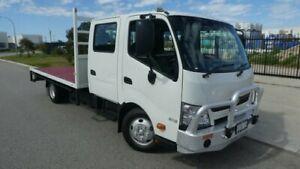 2013 Hino 300 XZU720R-QKTMSQ3 616 White Dual Cab 4009ccl 4x2 Bassendean Bassendean Area Preview