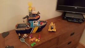 Imaginext fisher price boat for sale