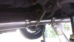 """240sx S13 Exhaust 3"""" Stainless Cat-Back w/ 4"""" tip London Ontario image 3"""