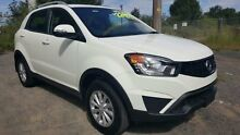 2015 Ssangyong Korando C200 MY14 Update S Grand White 6 Speed Automatic Wagon Tuggerah Wyong Area Preview