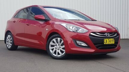 2014 Hyundai i30 GD2 Active Maroon 6 Speed Sports Automatic Hatchback