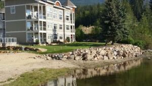 Mara Lake Sicamous Vacation Condo w boat slip-Grandview Shores