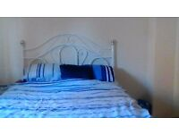 Gorgeous Double Bed with Luxury Headboard for sale