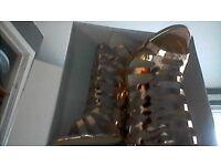 rose gold heels size 4