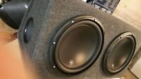 JL Audio W3v3 12-inch Subwoofer Driver (500 W, 2 Ω) 2XSubs