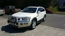 2012 Holden Captiva CG II CX 7 White 6 Speed Automatic Wagon Nerang Gold Coast West Preview