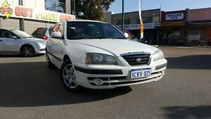 2005 Hyundai Elantra XD MY05 FX 2.0 HVT White 4 Speed Automatic Hatchback Victoria Park Victoria Park Area Preview