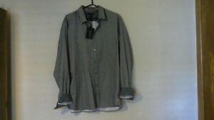 Mans Ted Baxter London Designer Long Sleeve Shirt.[new]