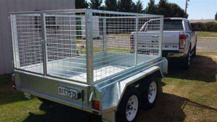 Galvanised Trailer Cage, 8x5 900mm, Heavy Duty Cage Only, New Delacombe Ballarat City Preview