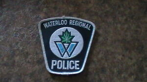 Waterloo Regional Police Badge Kitchener / Waterloo Kitchener Area image 1