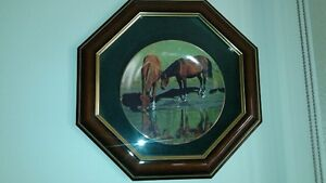 Collector Plate - picture of two horses