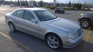2004 Mercedes-Benz e500 4Matic sunroof, leather, navigation