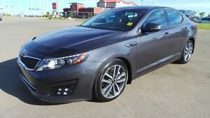 2014 Kia Optima SX TURBO Navigation (GPS),  Leather,  Back-up Ca