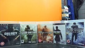 CALL OF DUTY BUNDLE FOR PS3