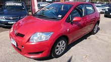 2007 Toyota Corolla ZRE152R Ascent Red 4 Speed Automatic Hatchback Maidstone Maribyrnong Area Preview