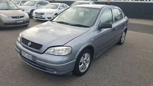 2004 Holden Astra TS MY03 City Silver 4 Speed Automatic Hatchback Heatherton Kingston Area Preview