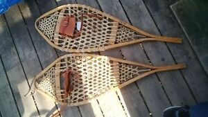 Wooden snowshoes, very nice condition, $125 Kitchener / Waterloo Kitchener Area image 1