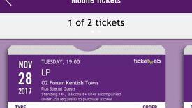 LP o2 Forum Kentish Town