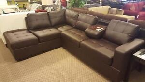 NEW ARRIVAL JACK MODERN SECTIONAL $998 BRAND NEW IN STOCK