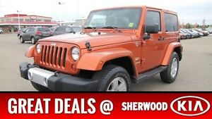 2011 Jeep Wrangler 4WD SAHARA Heated Seats,  Bluetooth,  A/C,