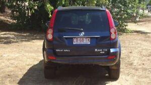 2012 Great Wall X200 K2 MY12 Blue 5 Speed Automatic Wagon