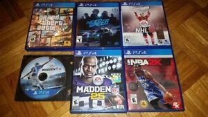 PS4 Driving and Sports Games (Various Prices)