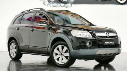 2007 Holden Captiva CG LX Black Sports Automatic Wagon Williamstown North Hobsons Bay Area Preview