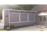 £9,000 large self contained tow-able mobile catering unit equipped with pizza ovens and fridge units