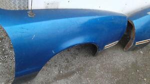 1974-1978 mustang II fiberglass front fenders RARE!!!!!!!!!!