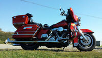 Customized Harley Electra Glide Classic
