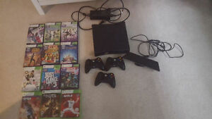 Xbox 360, controllers, Kinect, and games