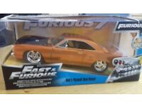 Fast & Furious Dom's Plymouth Road Runner 1:24 Model Boxed