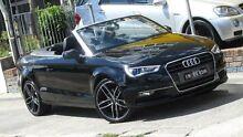 2015 Audi A3 8V MY16 1.8 TFSI Ambition Black 7 Speed Automatic Cabriolet Homebush Strathfield Area Preview