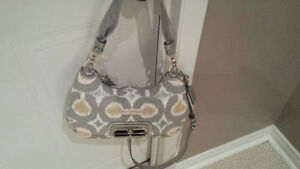 COACH Signature Fabric Handbag