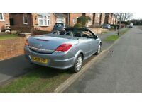 Vauxhall Astra twin top 58k