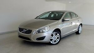 2011 Volvo S60 F Series D5 Geartronic AWD Gold 6 Speed Sports Automatic Sedan Hobart CBD Hobart City Preview