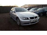 BMW 3 SERIES 2.0 318I SE 4d AUTO 128 BHP SAT NAV (silver) 2007