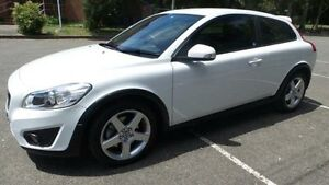 2010 Volvo C30 MY10 T5 White 6 Speed Manual Hatchback Granville Parramatta Area Preview