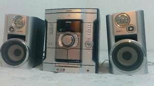 Sony audio system good condition