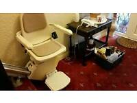 Brooks Acorn slimline stairlift £600 fitted cardiff