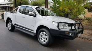 2013 Holden Colorado RG LTZ (4x4) White 6 Speed Automatic Space Cab P/Up Medindie Walkerville Area Preview