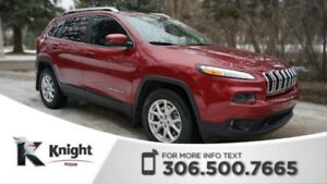 2015 Jeep Cherokee Latitude 4X4! Low KMs! Command Start! Heated